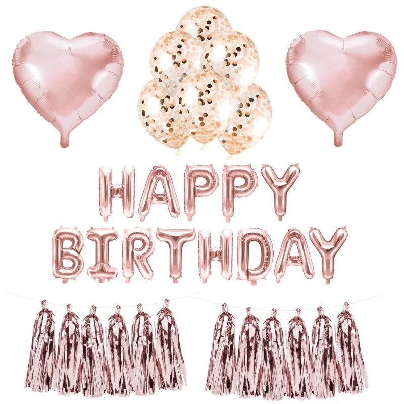 Balony foliowe na urodzinki