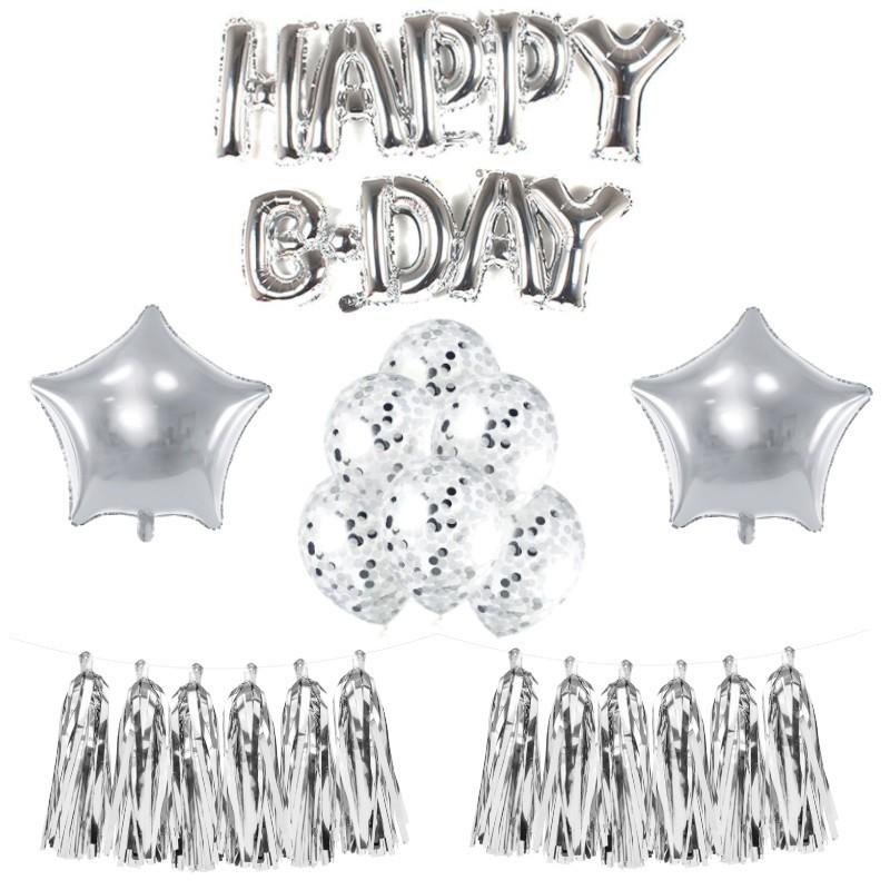 Zestaw balonów na urodzinki