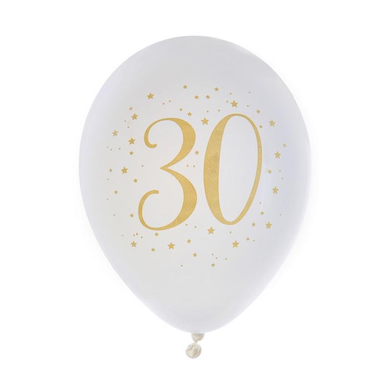 Balony na 30 urodziny