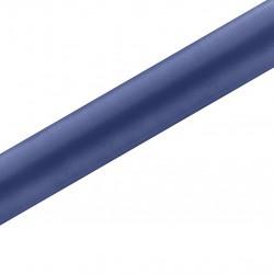 SATYNA/bieżnik rolka 36cmx9m GRANATOWA