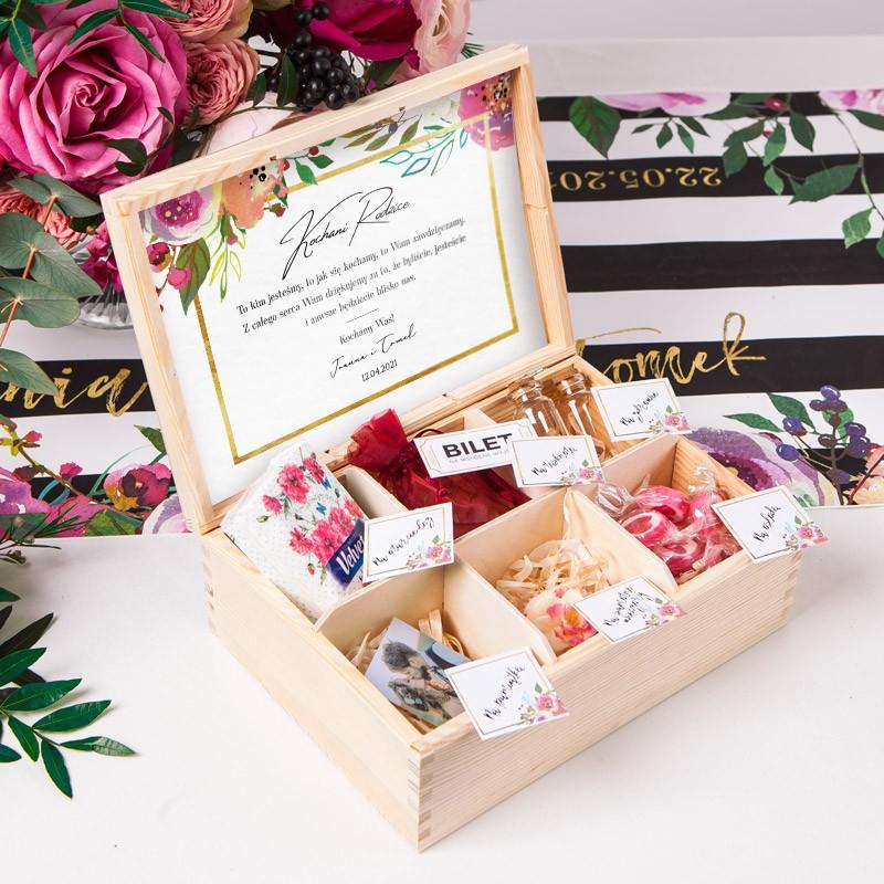 prezent dla Rodziców na ślub