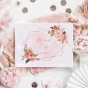DZIENNIK CIĄŻY na zdjęcia USG Rosegold Flowers Z IMIENIEM