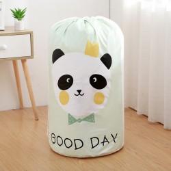 POJEMNIK na zabawki worek na pranie 43x82cm PANDA