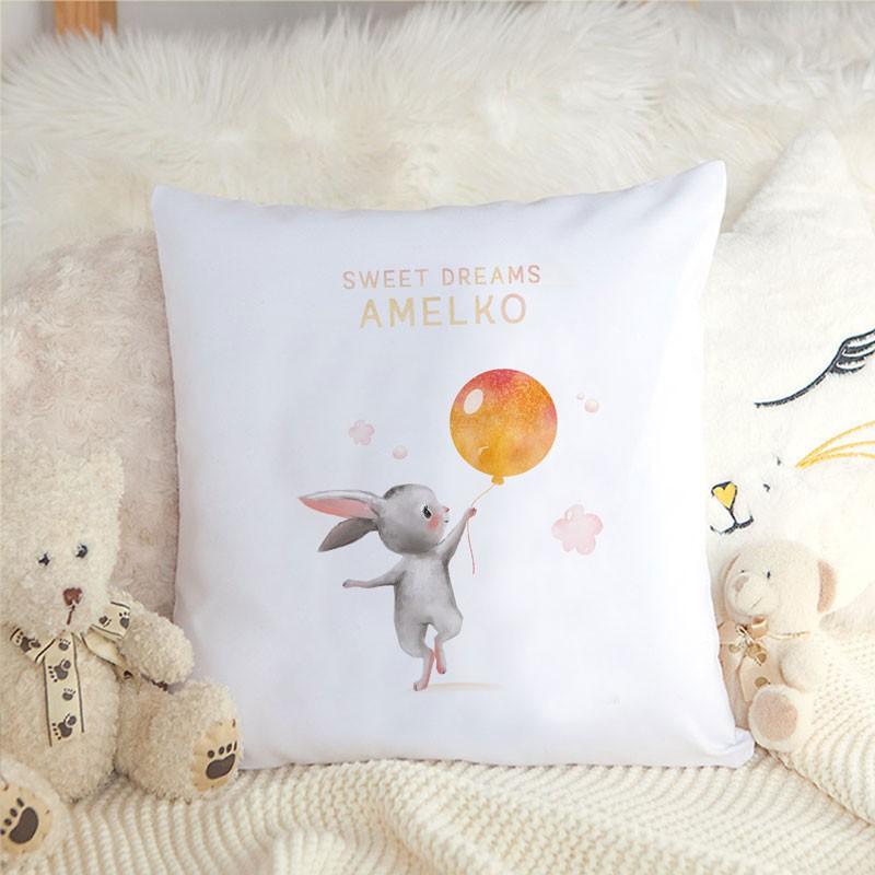 Personalizowana poduszka dla dziewczynki