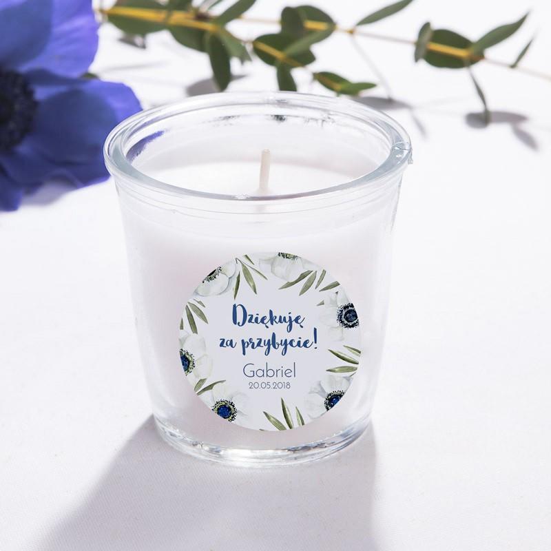 Zapachowa świeca dekoracyjna