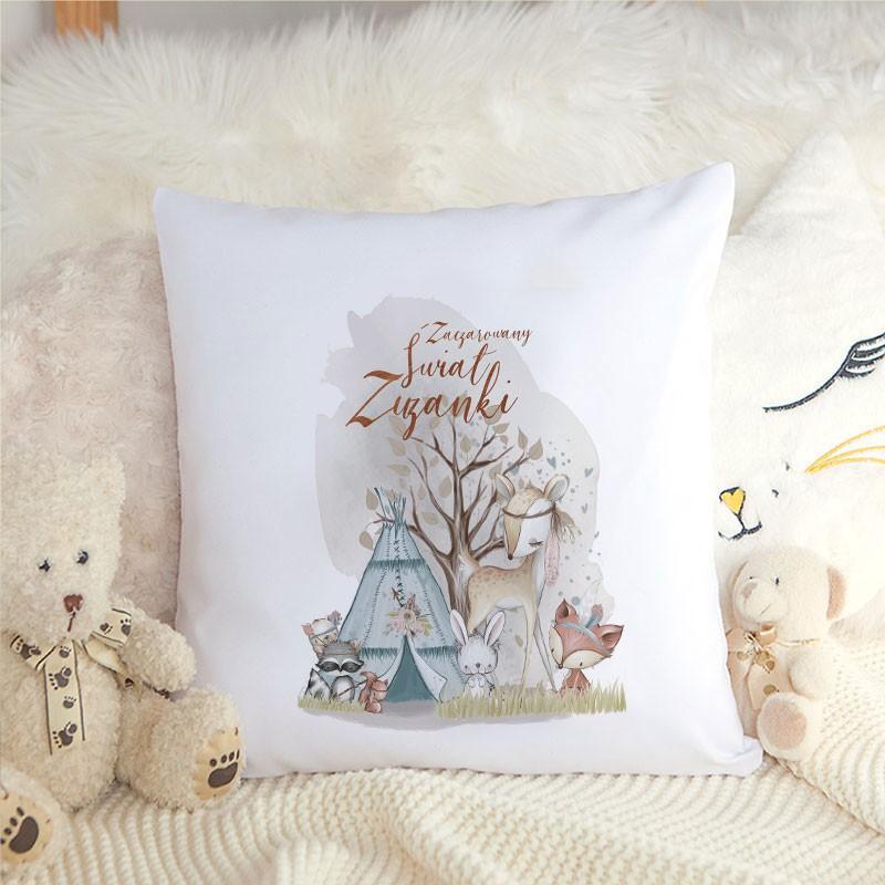 Prezent na wielkanoc poduszka dla dzieci