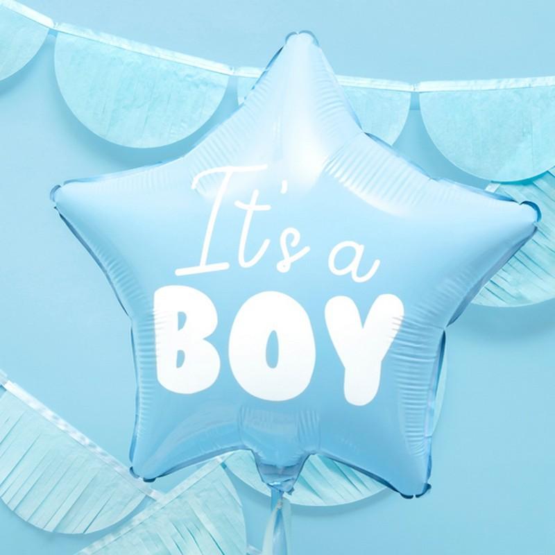 Balon foliowy na Roczek chłopca
