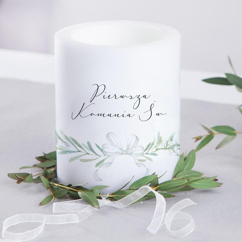 zapachowa świeca z konwaliami