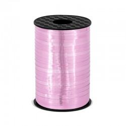 WSTĄŻKA do balonów metalizowana MEGA 225m Różowa