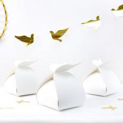 PUDEŁKA na ciasto słodycze komunijne ze skrzydłami 10szt