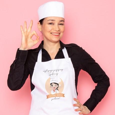 FARTUCH kuchenny na Prezent Z IMIENIEM Szefowa Kuchni