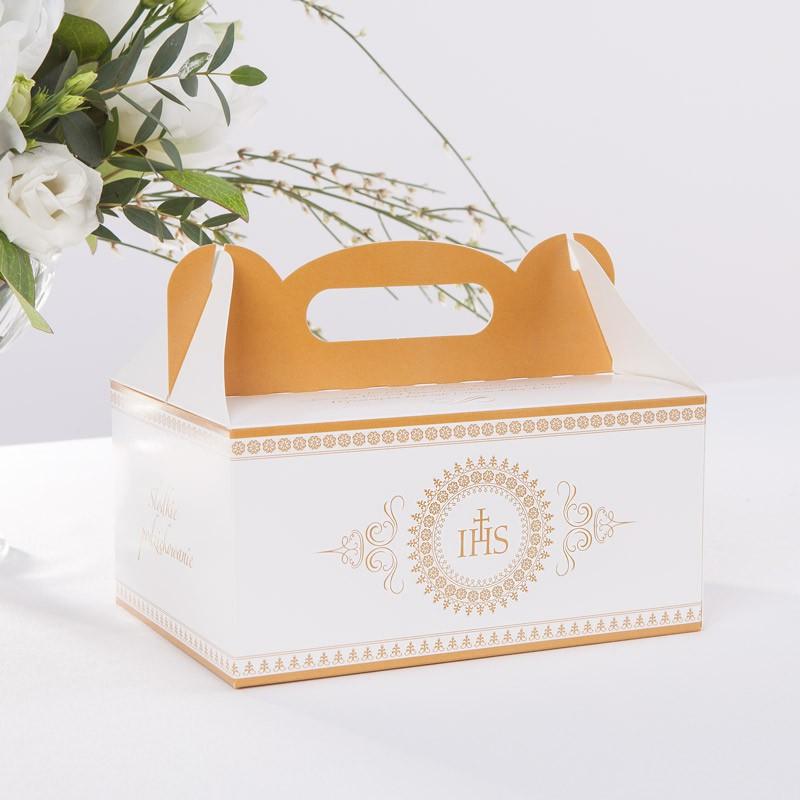 Samoskładające się pudełko na ciasto