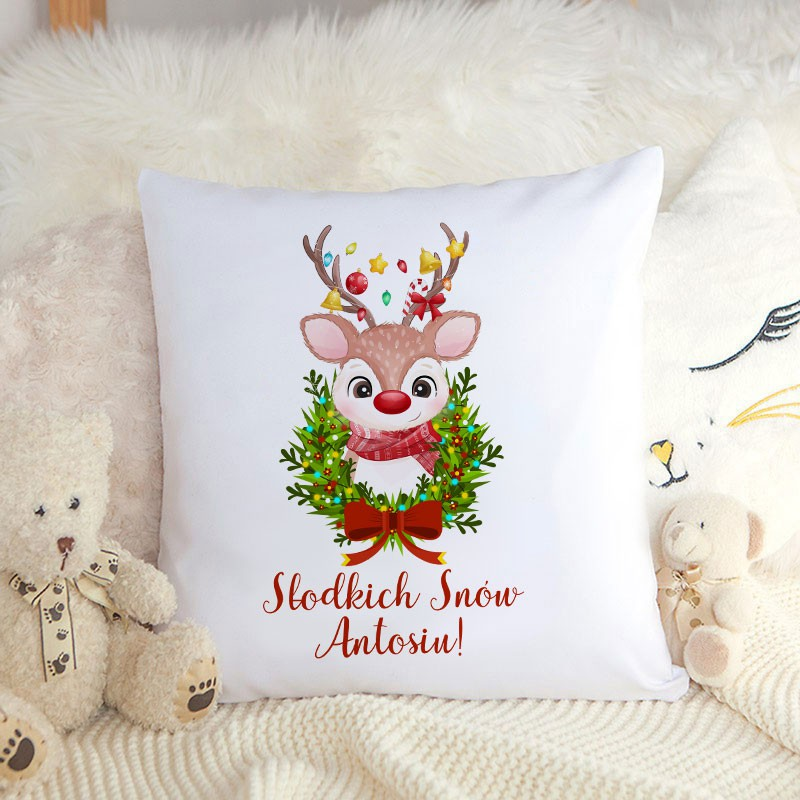 Poduszka świąteczna prezent dla dziecka