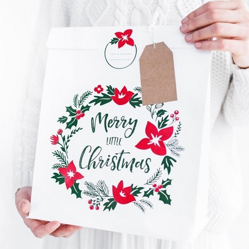 Torebka na prezent świąteczny