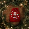 WOREK Mikołaja na prezent świąteczny Czerwony 50x70cm