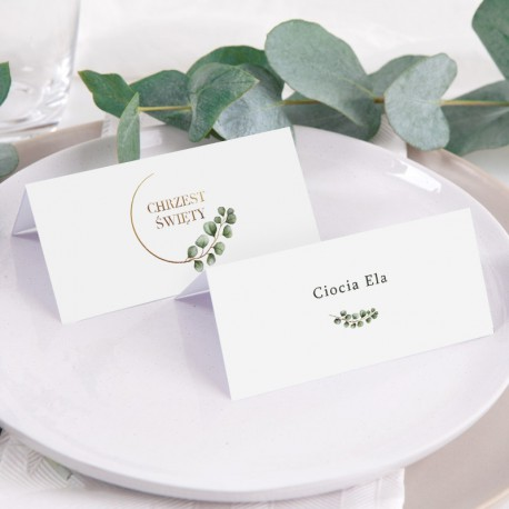 WIZYTÓWKA personalizowana Eukaliptus