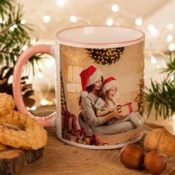 KUBEK na prezent świąteczny dla Mamy Z TWOIM ZDJĘCIEM