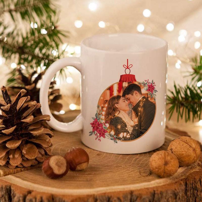 Kubek świąteczny ze zdjęciem