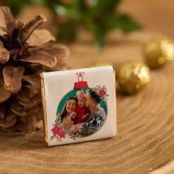 CZEKOLADKA świąteczna ZE ZDJĘCIEM i życzeniami