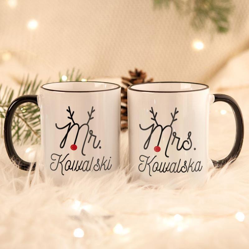 świąteczne kubki dla Par