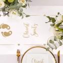 Dekoracje stołu na Chrzest