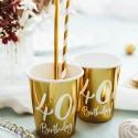 Kubeczki i talerzyki na 40 urodziny