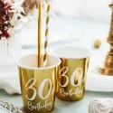 Kubeczki i talerzyki na 30 urodziny