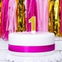 Świeczki na tort na Roczek