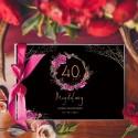 Księgi gości na 40 urodziny