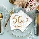 Dekoracje na 50 urodziny i prezenty