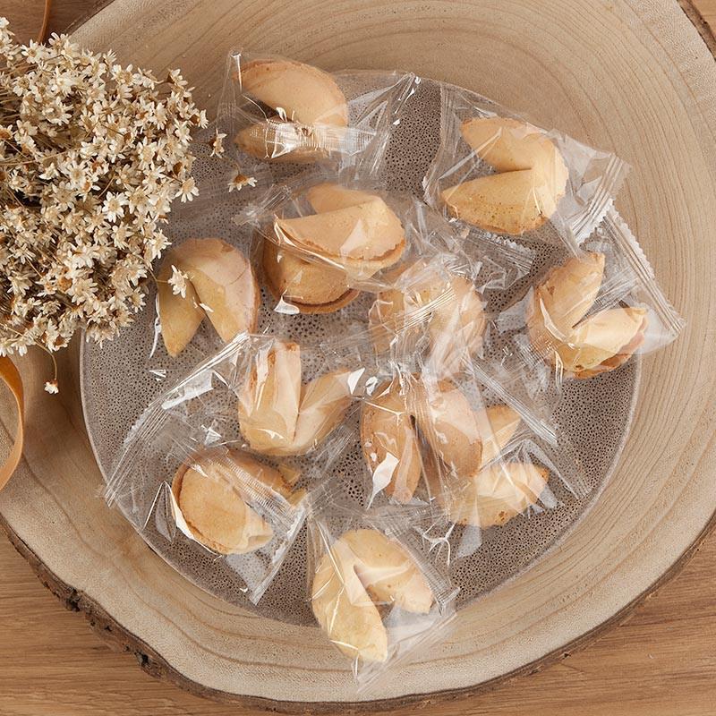Ciasteczka z wróżbą do słodkiego stołu