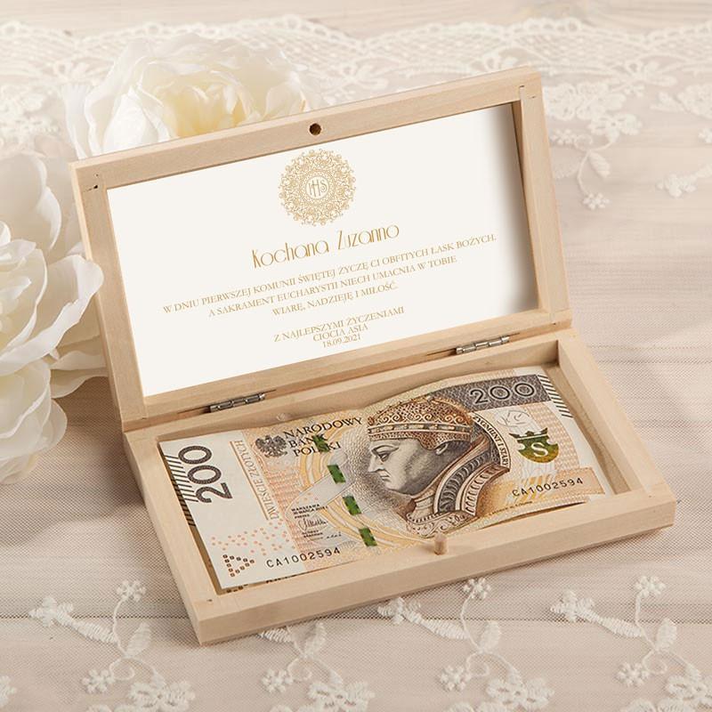 Pudełko na pieniądze IHS Exclusive