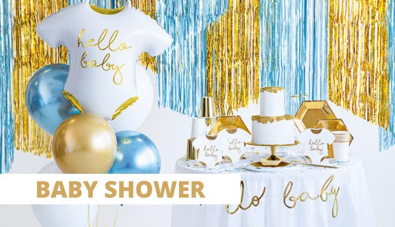 Dekoracje na Baby Shower